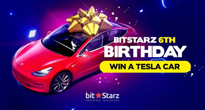 Still A Big Chance Left to Win at Tesla 3 at Bitstarz Casino