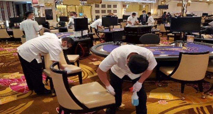 casinos-in-macau-being-desinfected