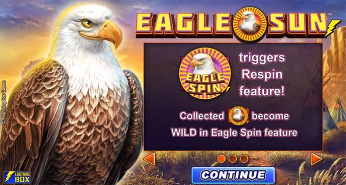 Lightning Box Games Set to Debut Eagle Sun at LeoVegas Casino