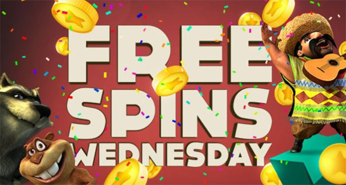Don't Forget to Claim Your Free Spins Wednesday at BitStarz