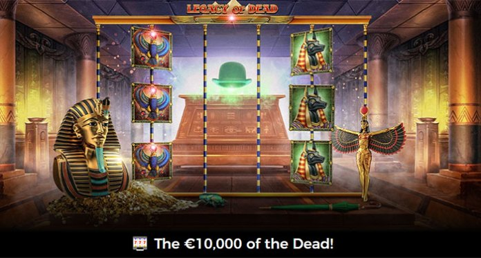 Win a Share of €10,000 in Mr. Green's Egyptian Dead Promotion