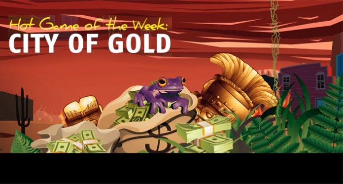 Play the Hot Game of the Week City of Gold at Red Stag Casino