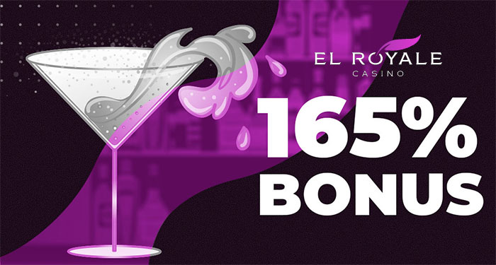 Claim up to 165% in Slot Bonuses at El Royale Casinos 24/7 Event