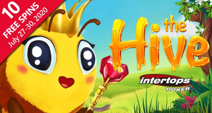 The New Betsoft Hive Slot is All the Buzz at Intertops Poker