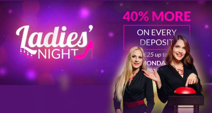 OH WHAT A NIGHT, Ladies Get 40% at Slots Million Tonight!
