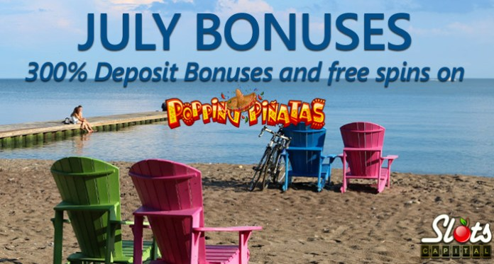 Slots Capital Casino Adding 300% to All Deposits in July