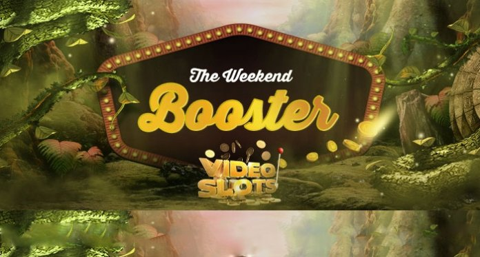 Weekend Booster at Videoslots, Get 0.5% of Your Winnings to Your Vault