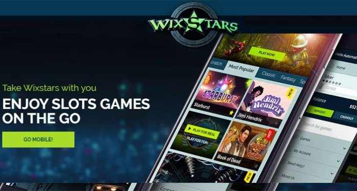 Play a Featured Collection of the Hottest Slots at Wixstars