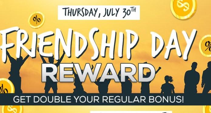 Celebrate Friend Day with Vegas Crest Casino