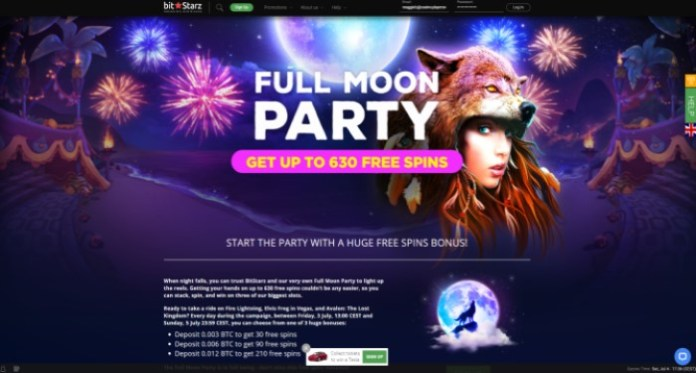 Light Up the Weekend with a Full Moon Party at Bitstarz