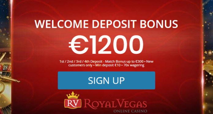 Get a Welcome Bonus and the Best Online Games at Royal Vegas