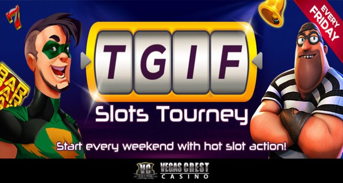 Win up to $300 in Cash this Friday When You Play Vegas Crest Casino