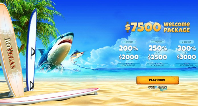 Play BoVegas' New Games with a $7,500 Welcome Bonus