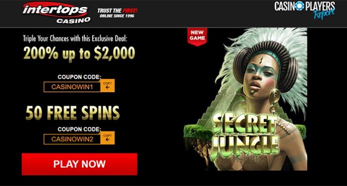 Top the Winners List at Intertops Casino on Progressive Jackpots