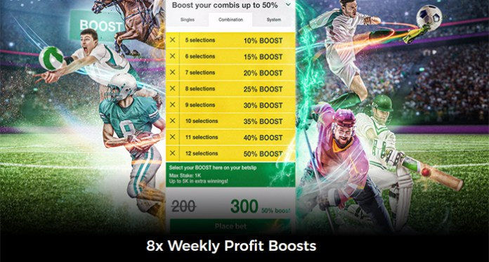 50% EXTRA Profit Boost up to $5K at Mr Green Casino