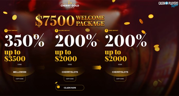 Cherry Gold Casino Has Two Special Offers You Just Can't Refuse!
