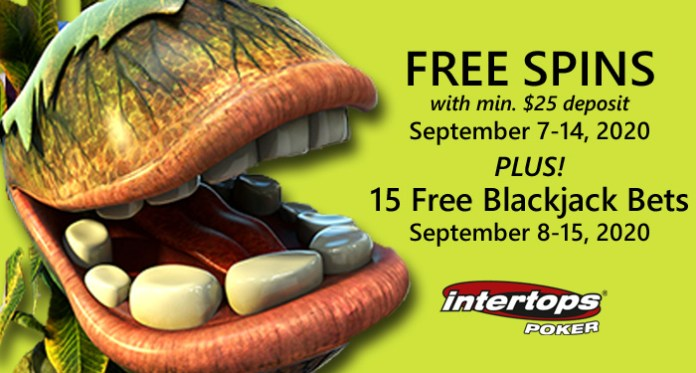 Intertops Poker Players Get Free Spins on Betsoft Slots $25 Deposits