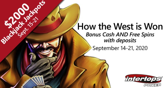 Intertops Poker Shows How the West is Won with Free Spins