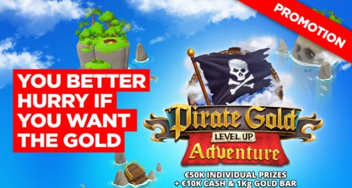 Get Up to 50K in Prizes Plus a 1KG Gold Bar and 10K in Cash!