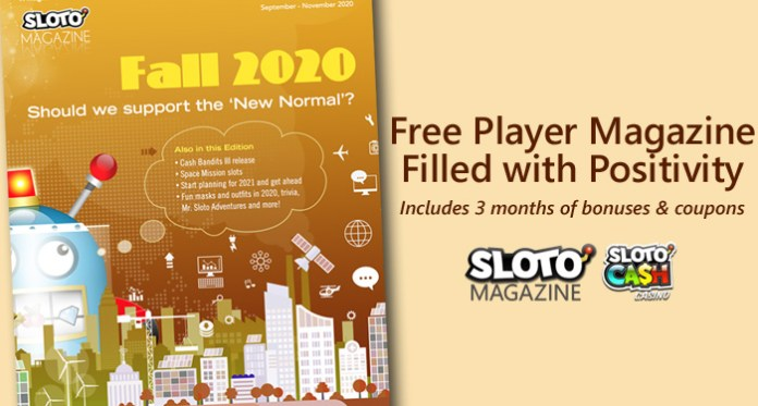 Sloto Magazine Fall Edition Brings Positivity to a Troubled World