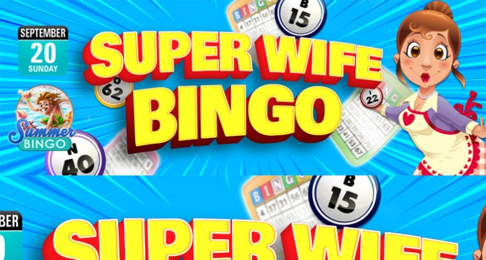 Celebrate Wife Appreciation with our Super Wife Bingo Event!