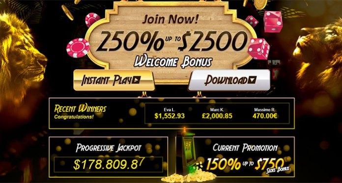 Golden Lion Casino's Progressive Jackpots are Worth More than $140,000