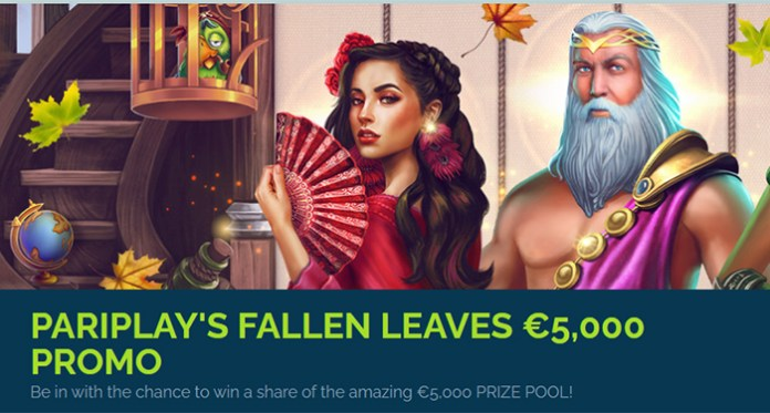 Pariplay's Fallen Leaves $5,000 Promo is Underway at WixStars Casino
