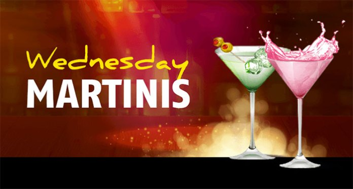 Get an Exquisite Wednesday Martini Cashback Bonus at Red Stag