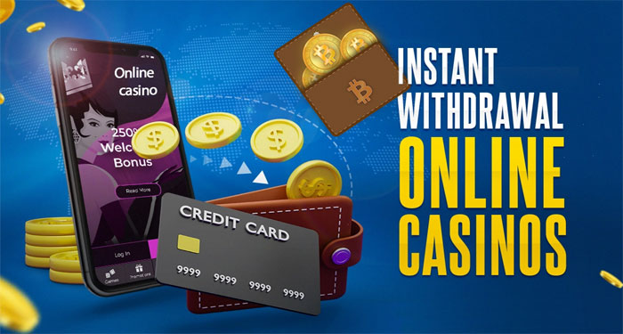 Methods to withdraw winnings from an online casino (Bitcoins/Credit cards/Bank transfer) -