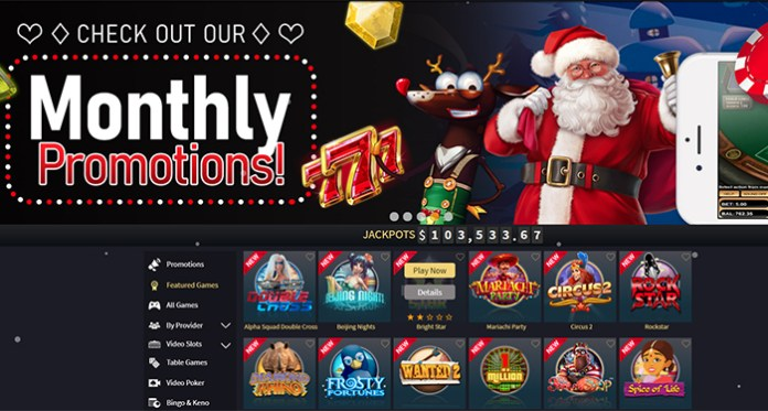 Visit Vegas Crest Casino to See What Santa Left in Your Stocking!