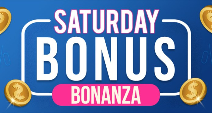 Enjoy a Saturday Bonus Bonanza When You Play CyberSpins Casino