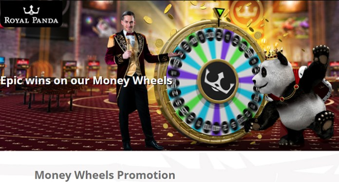 Cash in on the Money Wheels at Royal Panda This Week