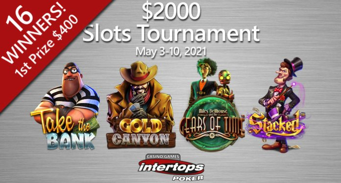 New Games and Player Favorites Featured in $2000 Slots Tournament