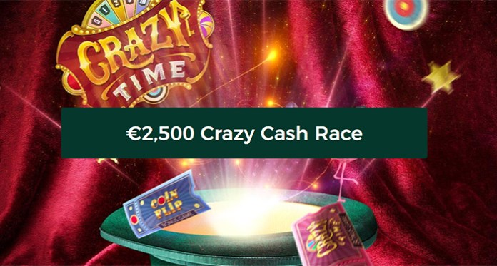 Join the $2,500 Crazy Cash Race Exclusively at Mr Green Casino