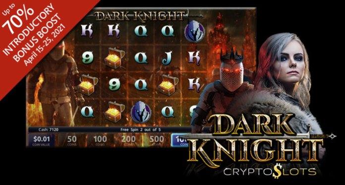 CryptoSlots Crypto-Casino Unveils Epic New Dark Knight Slot