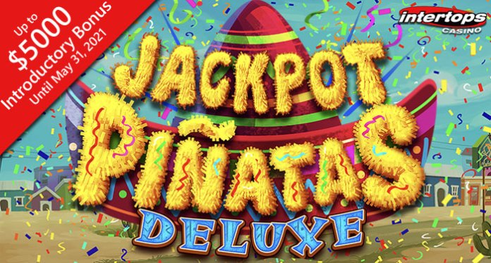 Intertops New 'Jackpot Piñatas Deluxe' + $240,000 Spring Meadows Bonus Contest
