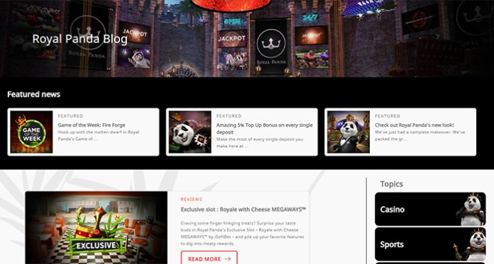 Never Miss Excitement with Royal Panda Casinos Blog