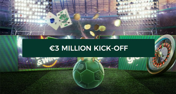 The $3 Million Kick-Off is Underway Exclusively at Mr Green Casino!