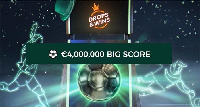 Mr Greens Cash Drop is Bigger with a €4,000,000 BIG SCORE!