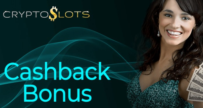 Sign Up for a Weekly Cashback Bonus at Cryptoslots Casino