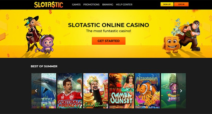 Slotastic, Get Started with an Extra Boost, Bonuses and Free Spins
