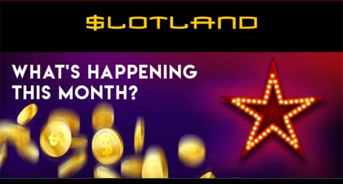Enjoy 6 Bonus Days When You Play Slotland Casino