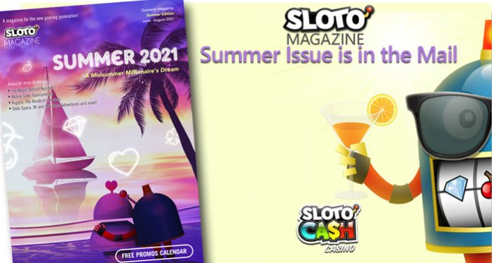 Sloto'Cash Casino's Player Magazine is Easy Reading Summer Fun with Loads of Bonus Coupons