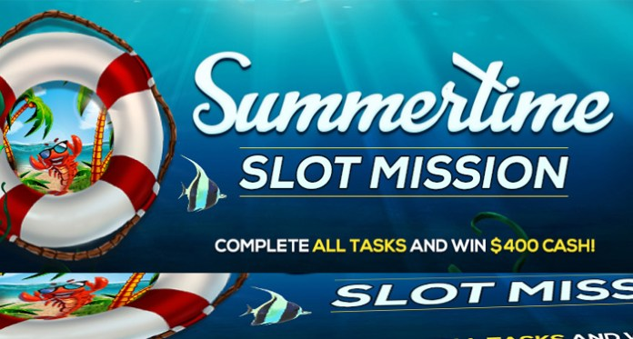 Take on Vegas Crest Casinos Summertime Slot Mission and Win