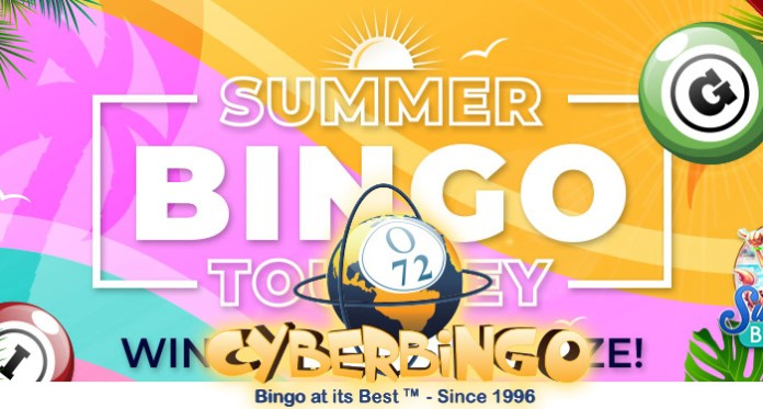 Celebrate the 25th Anniversary of CyberBingo with Amazing Summer Offers