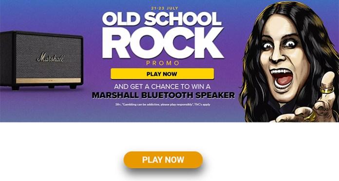 Win a Marshall Bluetooth Speaker in NextCasino's Old School Rock