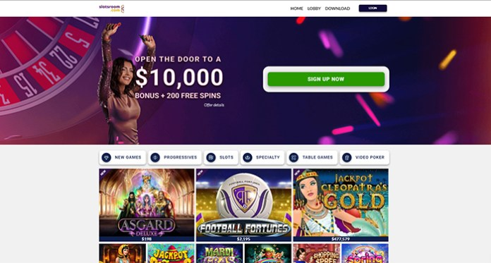 Claim Your Daily, Weekly & Monthly Casino Bonuses at Slotsroom