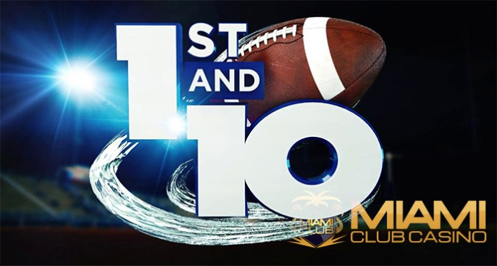 WGS' New Football Slot 1st and 10 is LIVE at Miami Club!