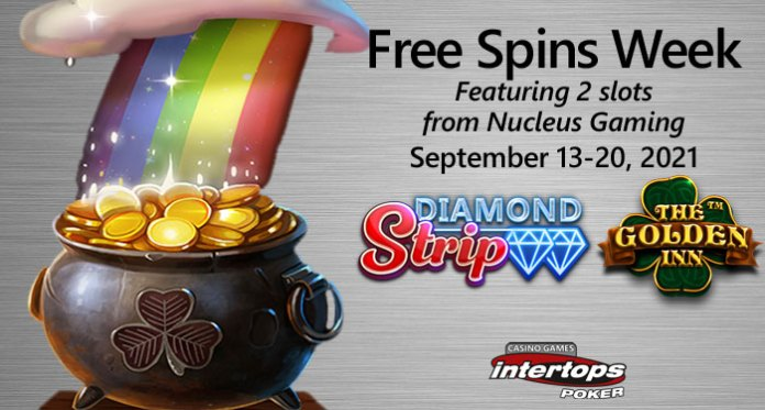 From the Vegas Strip to an Irish Pub – Get Free Spins Week at Intertops