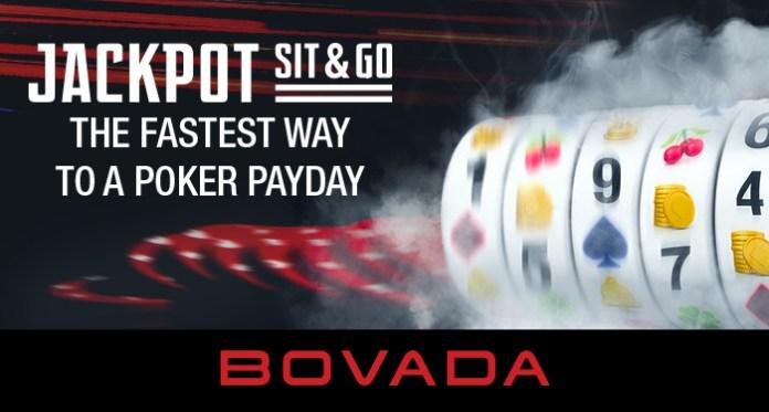 Bergabunglah di Fast Lane Bermain Kompetisi Sit and Go Jackpot Bovada